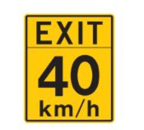 Highwayexitspeed